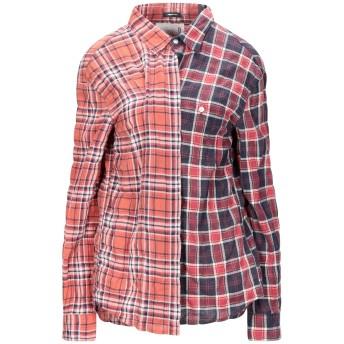 《セール開催中》R13 レディース シャツ 赤茶色 XS コットン 99% / ポリウレタン 1%