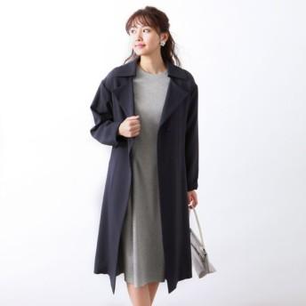 SALE【アマカ(AMACA)】 ★★トリアセテートドライプラスコート ネイビー