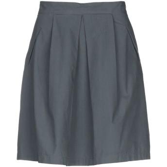 《セール開催中》BP STUDIO レディース ひざ丈スカート 鉛色 L コットン 100%