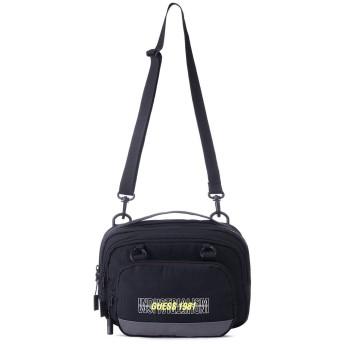 ゲス GUESS Logo Camera Bag (BLACK)