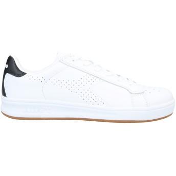 《セール開催中》DIADORA メンズ スニーカー&テニスシューズ(ローカット) ホワイト 6 革