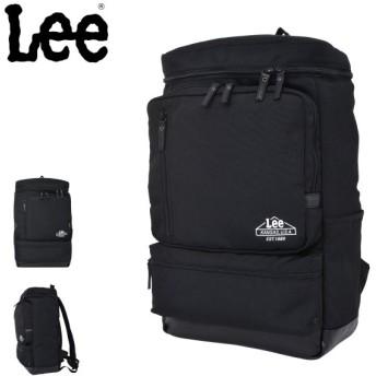 Lee リュック 28L メンズ レディース 320-4271 リー | デイパック リュックサック バックパック スクエア レインカバー付き
