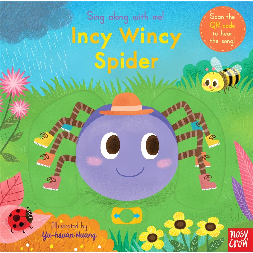 Sing Along with Me: Incy Wincy Spider【三民網路書店】[52折]
