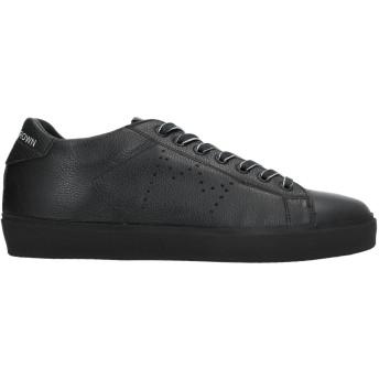 《セール開催中》LEATHER CROWN メンズ スニーカー&テニスシューズ(ローカット) ブラック 40 革