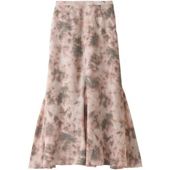 SALE 【40%OFF】 ROSE BUD ローズバッド タイダイマーメイドスカート ピンク