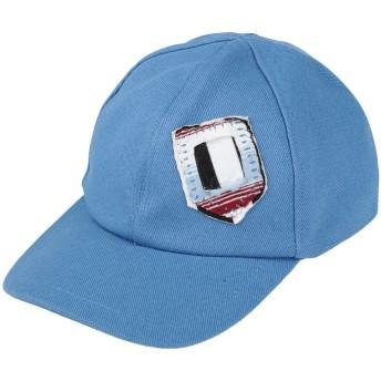 《セール開催中》MARNI メンズ 帽子 パステルブルー S コットン 100%