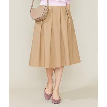 <組曲/KUMIKYOKU 小さいサイズ> ライトカラースカート(SKW2BM0308) ベージュ【三越・伊勢丹/公式】
