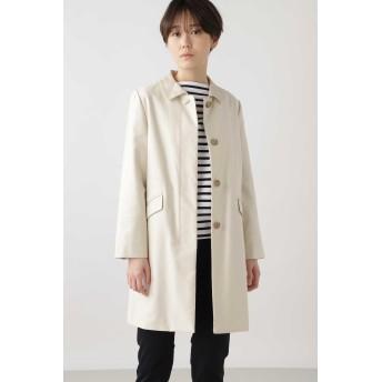 HUMAN WOMAN ◆綿麻ライトモールスキンコート その他 コート,ベージュ