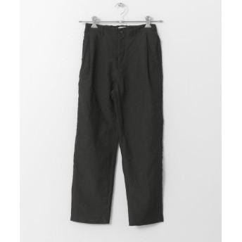URBAN RESEARCH DOORS/アーバンリサーチ ドアーズ UNIFY Tack Easy Pants CHARCOAL 1