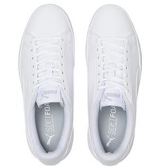 【ABC-MART:シューズ】373814 PUMA SMASH V2 BG 01WHITE/WHITE 601513-0001