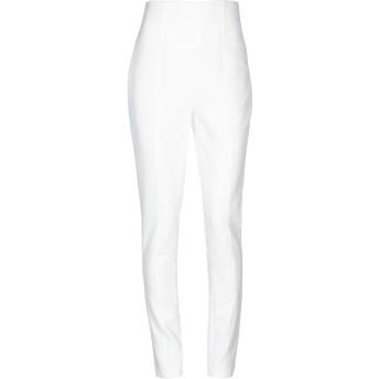 《セール開催中》RELISH レディース パンツ ホワイト 42 ポリエステル 90% / ポリウレタン 10%