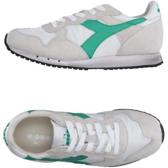 《セール開催中》DIADORA HERITAGE メンズ スニーカー&テニスシューズ(ローカット) ライトグレー 9 革 / 紡績繊維