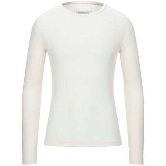 《セール開催中》MAISON MARGIELA メンズ T シャツ アイボリー M コットン 100%