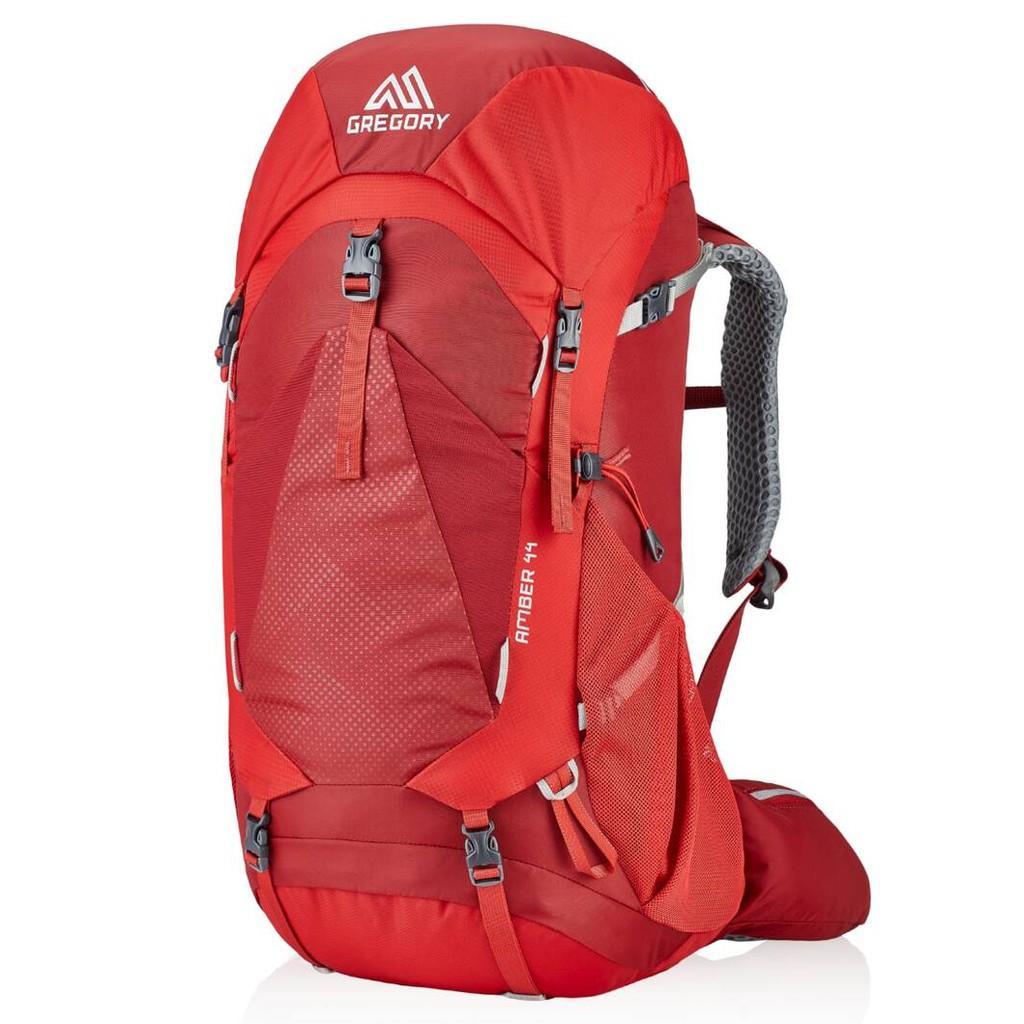 Gregory 女款 AMBER 44L登山背包 附背包防雨罩 火鶴紅 GG126868-T430 綠野山房