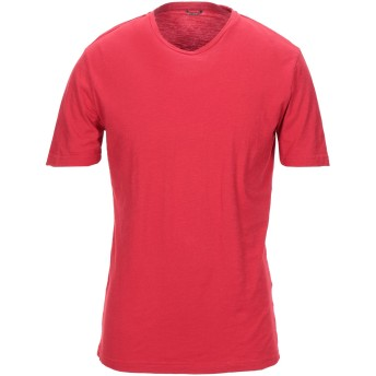 《セール開催中》GREY DANIELE ALESSANDRINI メンズ T シャツ レッド M コットン 100%