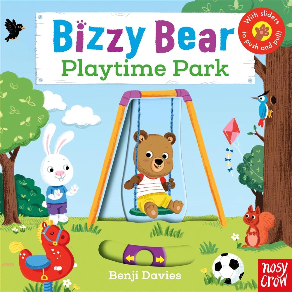 Bizzy Bear: Playtime Park (硬頁書)(英國版)【三民網路書店】[52折]
