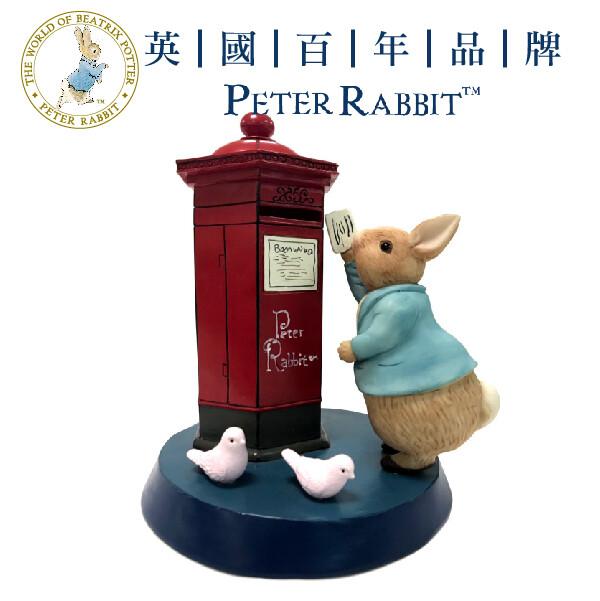 比得兔  經典英倫風存錢筒擺飾立體造型居家裝飾原廠授權