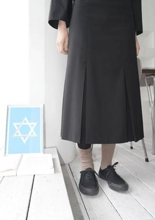 韓國空運 - regular pleats midi skirt 裙子
