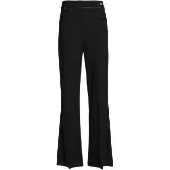 《セール開催中》CAVALLI CLASS レディース パンツ ブラック 38 レーヨン 96% / ポリウレタン 4%