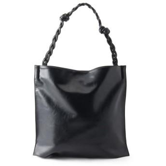 OZOC(オゾック) 編みワンショルトートバッグ