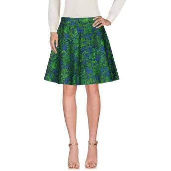 《セール開催中》DEPARTMENT 5 レディース ひざ丈スカート グリーン L コットン 78% / 麻 22%