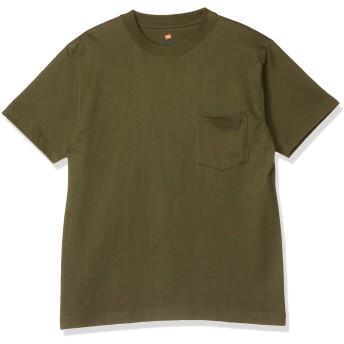 [ヘインズ] ビーフィー ポケット付き Tシャツ ポケT BEEFY-T 1枚組 綿100% 肉厚生地 H5190 メンズ ウ゛ァイン 日本 XL (日本サイズXL相当)