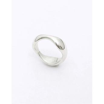 リング・指輪 - Re: EDIT ウェーブラインが美しいシルバーリング シルバー925ウェーブニュアンスリング アクセサリー/リング