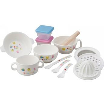 ミキハウス テーブルウェアセット 46-7092-848 || ベビー 赤ちゃん ベビー食器 ギフト 贈り物 プレゼント お祝い