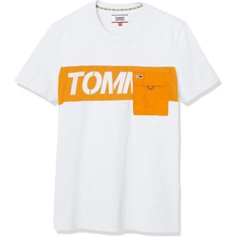 (トミーヒルフィガー) TOMMY HILFIGER コントラストポケットTシャツ DM08085 M ホワイト