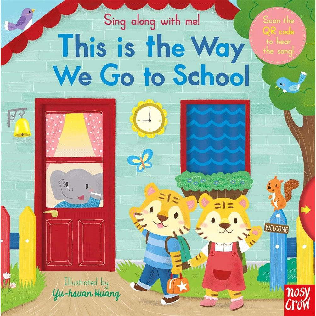 Sing Along With Me This is the Way We Go to School【三民網路書店】