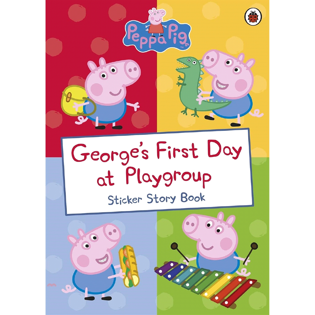 George's First Day at Playgroup (Peppa Pig)【三民網路書店】[79折]