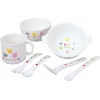 ミキハウス テーブルウェアセット 46-7052-505 || ベビー 赤ちゃん ベビー食器 ギフト 贈り物 プレゼント お祝い