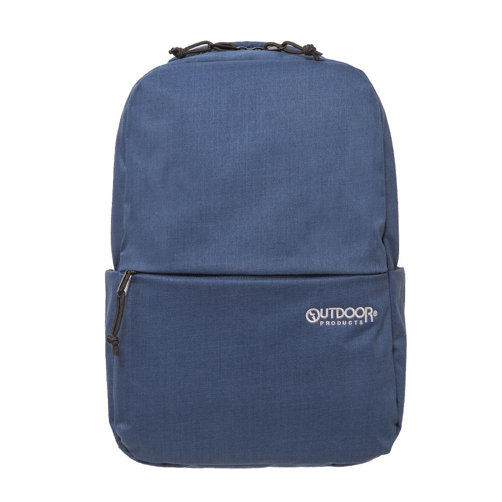 OUTDOOR 極簡風尚 14吋電腦後背包M 藍色 OD191111NY