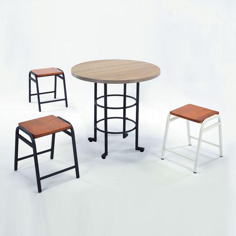 【CA528-30】造型椅(20-01)-白色