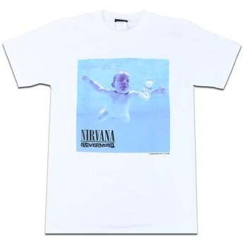 バンドTシャツ ロックTシャツ Nirvana ニルヴァーナ ニルバーナ Mサイズ 白