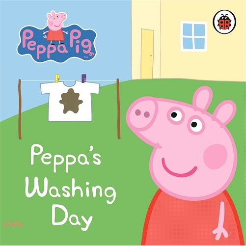 Peppa Pig: Peppa's Washing Day: My First Storybook【三民網路書店】