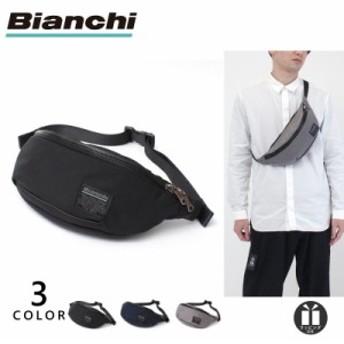 雑誌[公式] ビアンキ ウエストバッグ メンズ レディース 撥水 Bianchi ボディバッグ TBNY-01