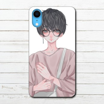 100-003 iPhone Case Smartphone Case Title: University debut by:puuko iPhone ケース スマホケース