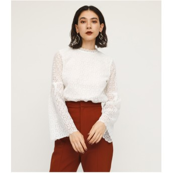 FLARE SLEEVE LACE TOPS