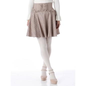 フリルコルセット風スカート