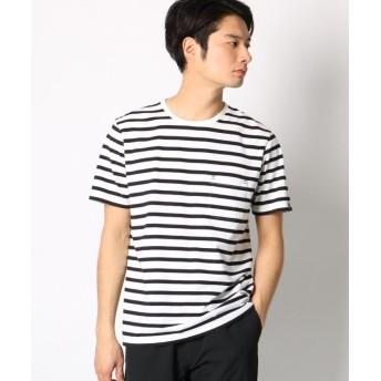 ザ ショップ ティーケー USAコットンクルーネック半袖Tシャツ メンズ ブラック(319) 04(LL) 【THE SHOP TK】