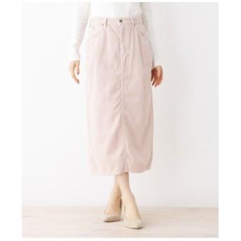 Lee コーデュロイロングタイトスカート