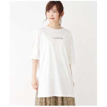 【WEB限定】オーバーサイズロゴTシャツ