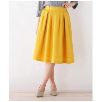 ◆ミモレタックフレアスカート