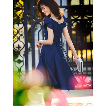 \ 安座間美優さん着用 /足長効果抜群スタイル美人の幸福ワンピースドレス(S~L)