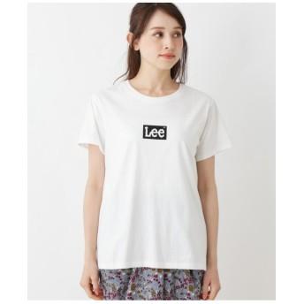 Lee ボックスロゴTシャツ