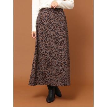 ・SUGAR SPOON レオパードAラインスカート