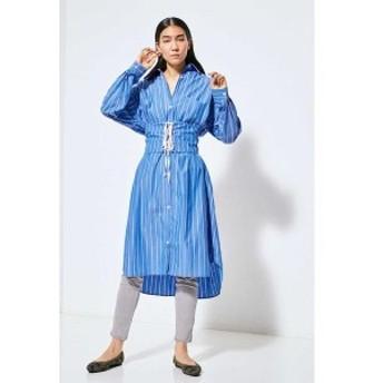 ローズバッド(ROSE BUD)/カマーバンドベルト2wayシャツドレス