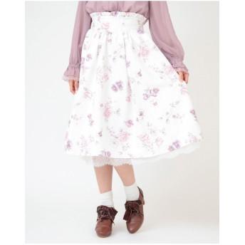 パンジーローズスカート