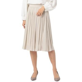 (ノーリーズ) NOLLEY'S ドレープサテンスカート 0-0273-1-06-002 40 ベージュ